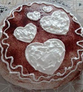 Gesztenyés torta elkészült